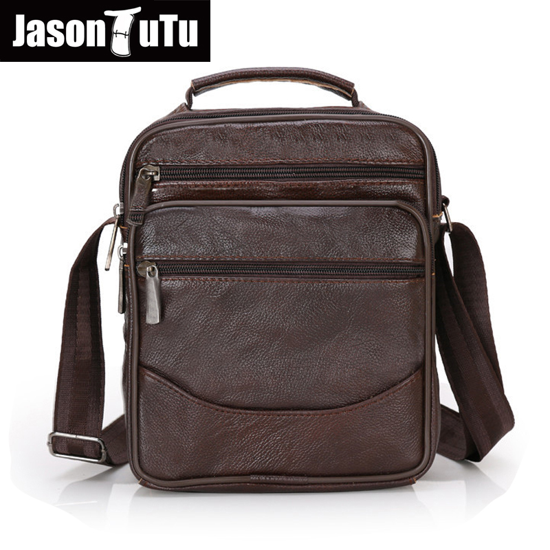 2017 Genuine Leather Men Bag Fashion messenger bags Man Shoulder Bag Business Men's Briefcase crossbody Handbag 6 style B359 genuine leather men bag fashion messenger bags shoulder business men s briefcase casual crossbody handbags man waist bag li 1423