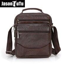 2016 Genuine Leather Men Bag Fashion messenger bags Man Shoulder Bag Business Men's Briefcase crossbody Handbag 6 style B359 цена