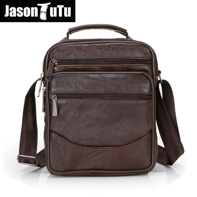 6e9e1c8467 2017 Genuine Leather Men Bag Fashion messenger bags Man Shoulder Bag  Business Men s Briefcase crossbody Handbag 6 style B359