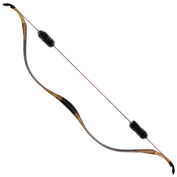 Archery traditional recurve bow 25-40lbs laminated hunting bow outdoor practicing