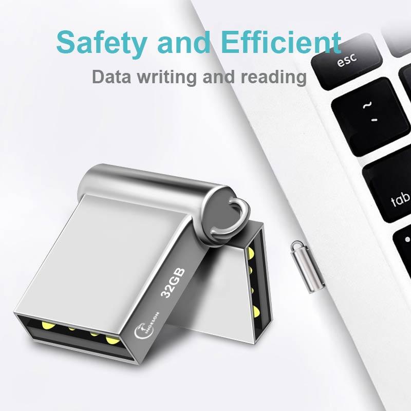 Ingelon Mini USB Thumb Drive 32gb Metal USB flash drive 32 GB - შემნახველი წყაროები - ფოტო 3
