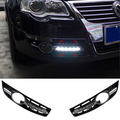 New 6 LED Daytime Running Light New Car Styling Modification Fog Lamp for Volkswagen VW Passat B6 2007 2008 2009 2010 2011