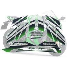 Мотоцикл для Kawasaki NinjaZX10R 15 Ninja ZX 10R ZX10R наклейка на обтекатель полный комплект аппликация Высокое качество весь автомобиль наклейка