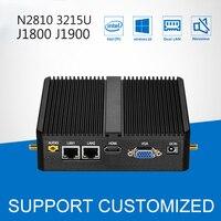 Mini PC J1900 Quad Core 4G RAM Windows 10 Dual LAN 2 COM Fanless Mini Computer