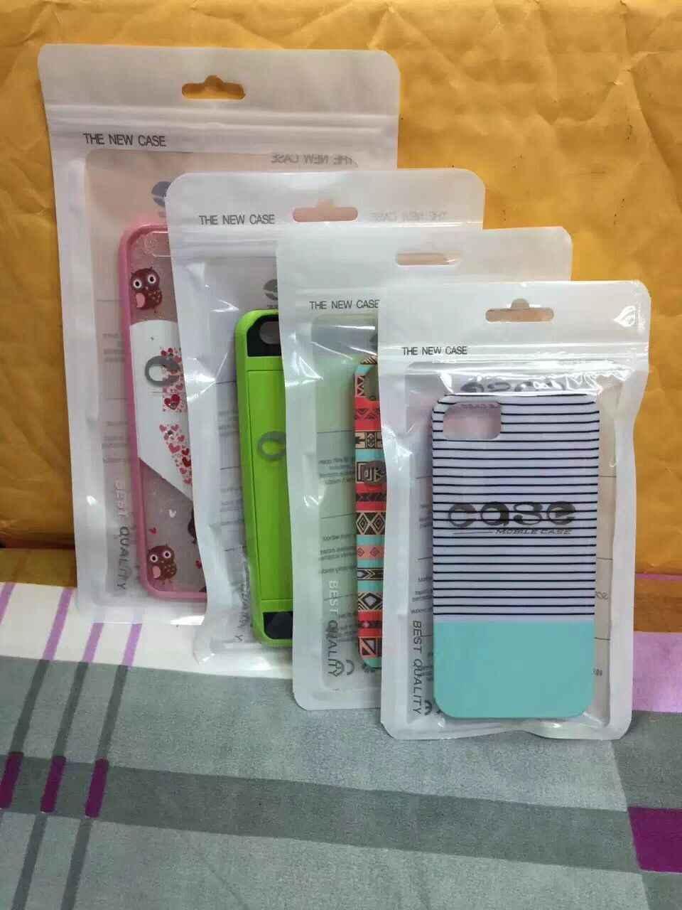 5000pcs 12*21cm White Clear Self Seal Zipper Plastic Retail Package Poly Pouch Zip Lock thick transparent dustproof plastic Bags