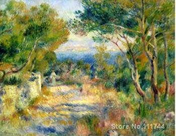 modern art paintings L Estaque hand painted art by Pierre Auguste Renoir High quality