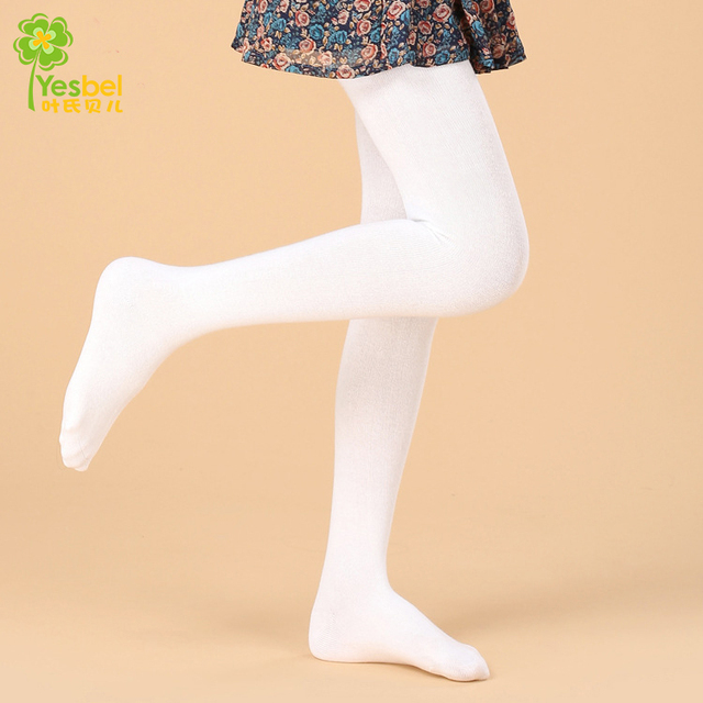 12d36c65d Cores sólidas Macios Kawaii Adorável Crianças Menina Crianças Meia-calça de  Veludo Collants Opacos Collants