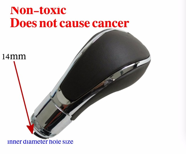 14mm For Opel/Vauxhall/Insignia Black Automatic Gear Stick Shift Knob Car Gear Knob Non-toxic no cancer