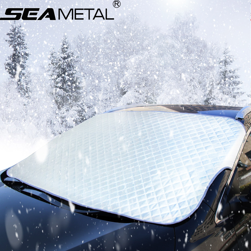 Car Window Sunshade Windshield Cover Snow Sun Shade Protection Winter Windscreen Supplies Sunscreen Folding SUV Sedan