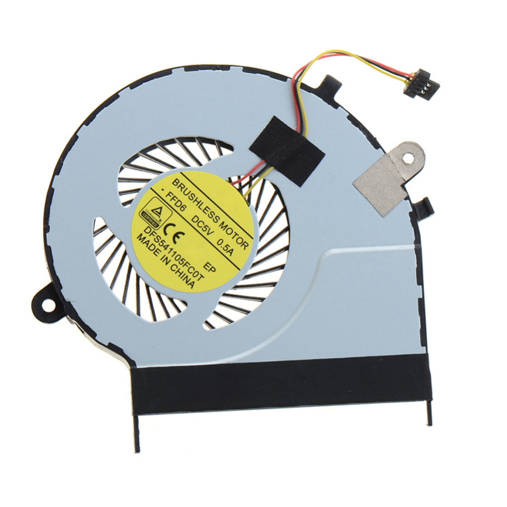 Notebook Computer Cpu Cooling Fans Replacements Fit For Toshiba Satellite L50-B L50D-B L50T-B L50DT-B Laptops Cooler цена и фото