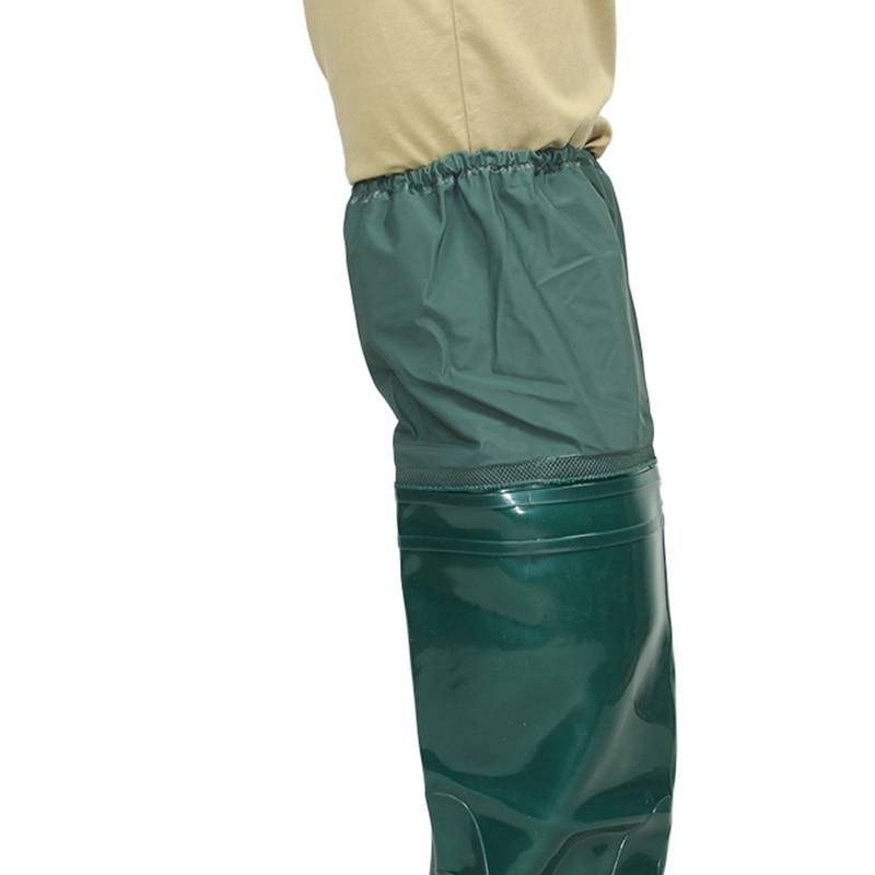 2018 yeni yeşil yumuşak taban balıkçılık botları pvc yüksek - Erkek Ayakkabıları - Fotoğraf 2