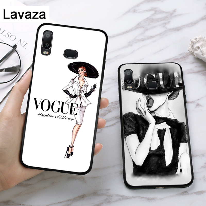 Lavaza VOGUE Christmas Princess Girl Silicone Case for Samsung A3 A5 A6 Plus A7 A8 A9 A10 A30 A40 A50 A70 J6 A10S A30S A50S in Fitted Cases from Cellphones Telecommunications