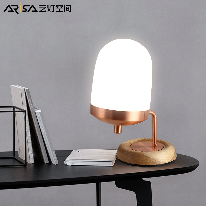 Nordic desk lamps simple modern bedroom fixtures bedside study LED lights decorative table lamps tegoder лосьон улучшающий тонус кожи тела tegoder ampoules body tightening tdc 90007 24 2 мл page 3
