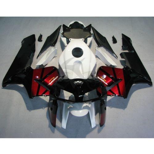 Белым Отлитая в форму впрыска Пластиковые Обтекателя кузова для Хонда ЦБР 600 РР клавишу F5 05 06 1А
