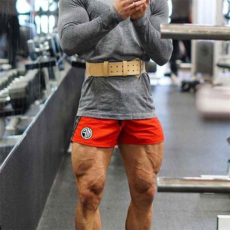 2018 Summer New Mens Gyms Shorts Fashion Casual Fitness Bodybuilding Workout Male Slim Fit Short Pants Brand Sweatpants