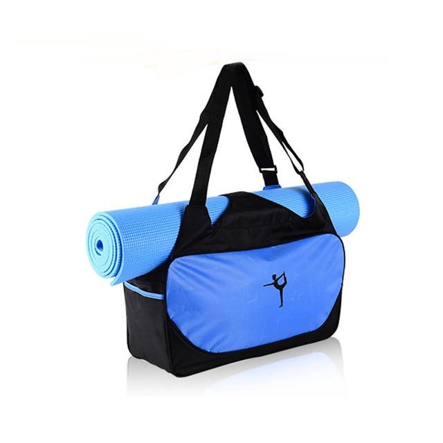 Gym Women Backpack Handbag Yoga-Bag Canvas Fitness Storage Bag-Not Included