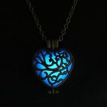 Glow In The Dark Heart Locket