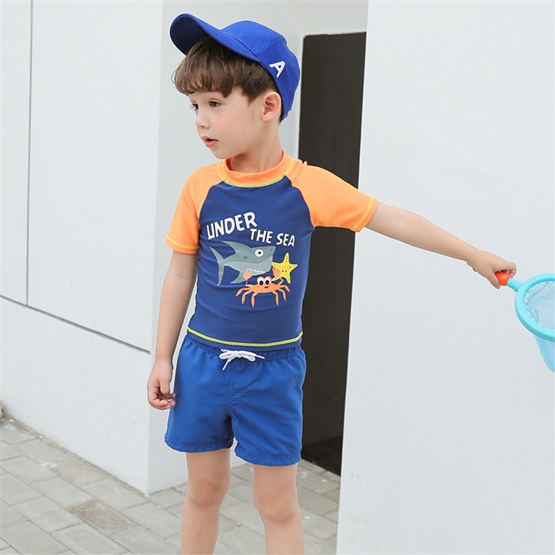 8428e92b93bcc New Model Boys Two Pieces Swimwear Swimsuit Boy Striped 2-8 Y Children  Swimming Wear Swim Tops & Beach Shorts Suit Bathing Suits - aliexpress.com  - imall. ...