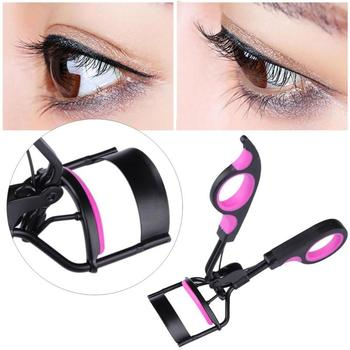 Professional Eye Lash Curler Cosmetic Eyelash Curler Curling  2pcs Silicone Replacement Pads Makeup Eyes Lashes Nipper Tools