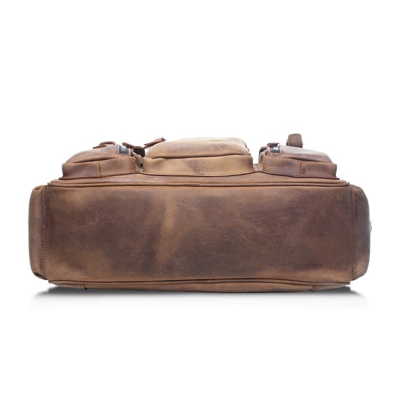 Brown Week Voyage De Designer Joyir Grand Main end deep Hommes Véritable Haute Brown Cuir Qualité À Bag6025 Sac En Vintage Bagages Sacs BHBqxwanv