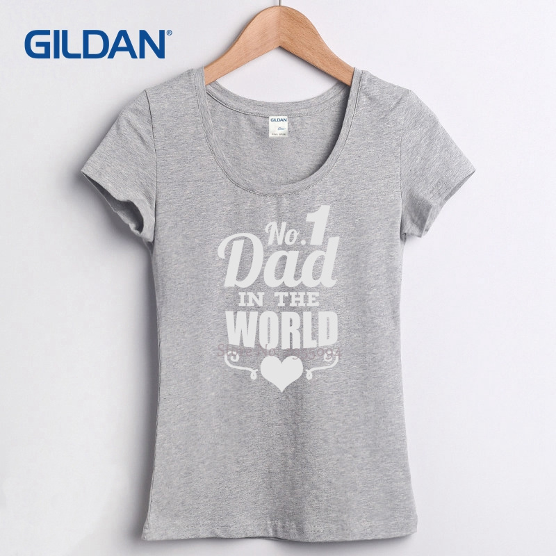 Fathers Day Worlds Best Dad Papa Birthday Gift Daddy Present Pappa 2018 Women T Shirts Black