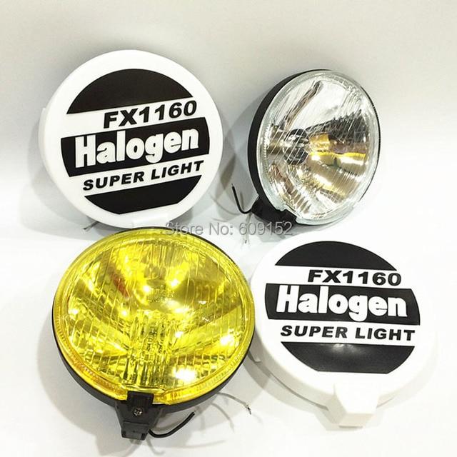 7 Inch Halo Halogen Bulb H3 12v 55w Car Fog Light On Off