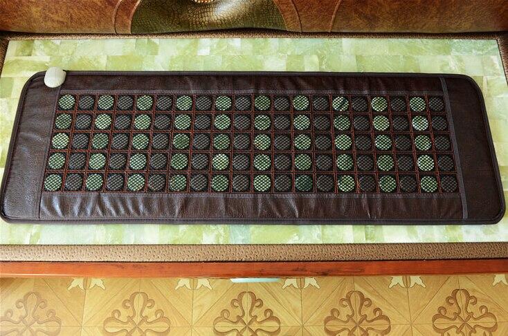 비취 전기석 난방 매트리스 적외선 비온 부정적인 의료 비석 돌 매트리스 수 온 쿠션 온수 50 * 150CM