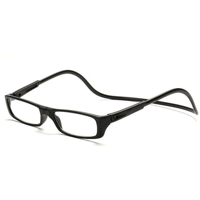 c5eb5f66d0b8 Online Shop Women Magnetic Reading Glasses Men Eyewear Magnetic eyeglass  frames Magnet Diopter glasses Oculos Gafas De Lectura Foldable