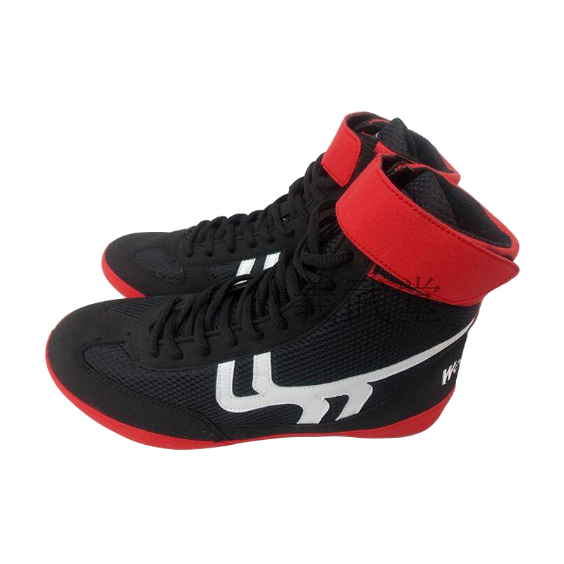 Wrestling shoes for men training shoes geniune leather sneakers professional boxing shoes tenis feminino de boxe shoes training shoes