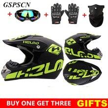 BOZXRX Get Three Gifts Motorcycle Men motocross Off Road Match Helmet Protective Helmets ATV Dirt Bike Downhill MTB DH Capacete все цены