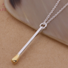 Wholesale silver plated charm jewelrys Necklace,free shipping 925 stamped fashion jewelry