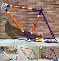cool price Original oddityk Crom steel Drawing paint fixed gear bicycle frame