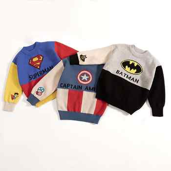 Kids Boys Cartoon Sweaters Casual Children Knit Autumn Warm Pullover Sweater For Boy Toddler Long Sleeve Wear Appliques Clothes - DISCOUNT ITEM  38% OFF All Category