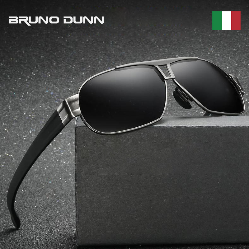 Aluminum mercedes Brand designer Polarizerd Sunglases Men 2018 Sun Glass for Male Driving sunglases oculos polarizado aviador(China)