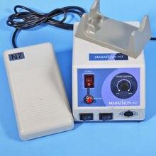 Máquina de polimento de micro motor n7 110v/220v, laboratório dentário, maratona, frete grátis