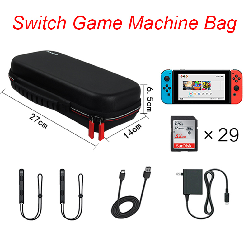 Hard Cover Carrying Travel Bag for Nintend Switch Shell Portable Nintendos Switch Storage Case EVA Protector Console Accessories