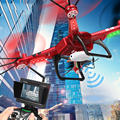 730mah WLTOYS Q222 RC Helicopter Drone Remote Control with LED Light 2.4G 4CH 3D Roll Flying Saucer Quadcopter Dron