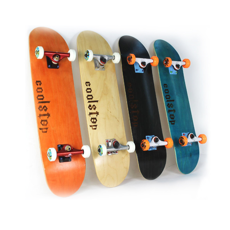 Long Entry-level Professional Wooden Skateboard Four Wheel Scooter Standard Models Maple Longboard 31*8.0inch Double Rocker