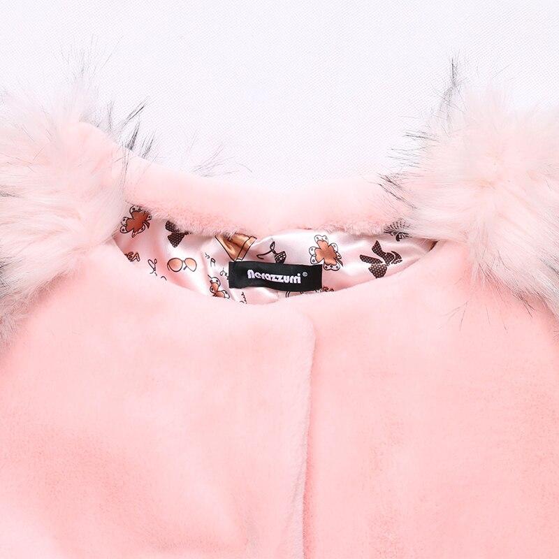 Y Paquetes Mujeres Pink Chaqueta Mullido Falso Tamaño Zorro Mangas Abrigo Invierno Nerazzurri Piel Con 7xl 6xl Los Elegante Rosa De 5xl Plus Las XHWSqRxB