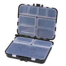 Многофункциональный набор рыболовных снастей, коробка для мужчин, профессиональное оборудование для рыбалки, Мужской органайзер для рыболовных инструментов(черный