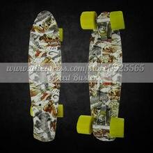 Peny skateboard longboard 22″ Retro Mini skate trucks deskorolka professional fish skateboard plastic complete tablas de skate