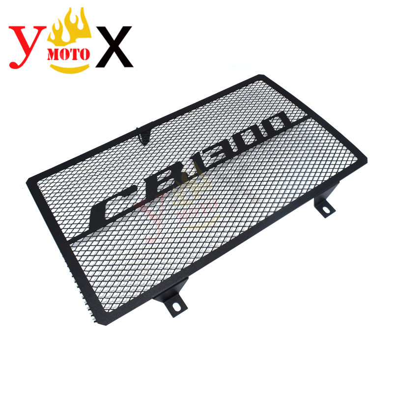 Black Motorcycle Grille Radiator Cover Guard Protector Coolant System Net For Honda CB1300 CB 1300 2003-2008 2004 2005 2006 2007Black Motorcycle Grille Radiator Cover Guard Protector Coolant System Net For Honda CB1300 CB 1300 2003-2008 2004 2005 2006 2007