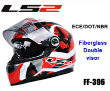 Authentic Motorcycle Helmet,Casco Moto Racing Full Face Helmet(Ls2 FF396)