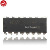 HD74LS138P HD74LS138 74LS138 DIP 16 Orijinal ve Yeni 10 ADET/GRUP Hoparlör Aksesuarları    -