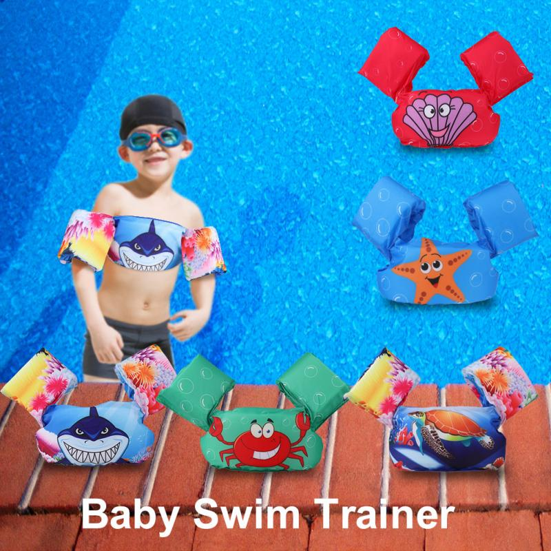 Baby Inflatable Arm Floating Inflatable Swimming Ring Circle Tube Kids Arm Floating Sleeves Swim Trainer Swimming Accessories