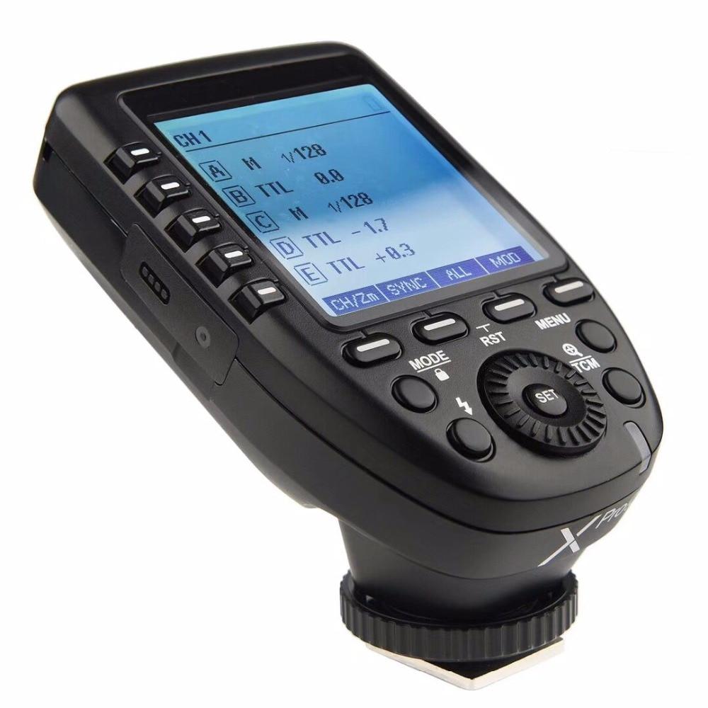 Godox XPro F フラッシュトリガートランスミッタ ttl II 2.4 グラム X システム HSS 液晶画面富士通富士カメラ -
