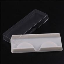 лучшая цена 10 Sets/Lot False Eyelash Storage Packing Box Eyelash Boxes Transparent Empty Lash Case Reuseable Plastic Lash Storage