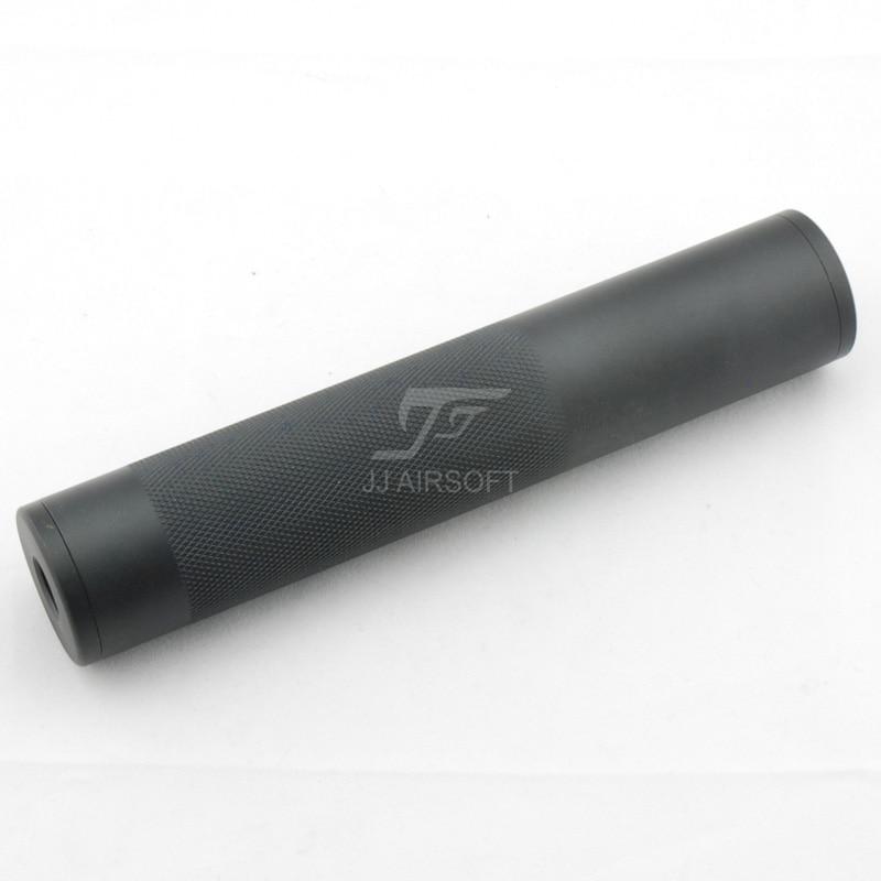 Airsoft silenciador barril extensão 14mm ccw/cw (leve) versão longa/curta (preto/tan) para nerf arma de brinquedo