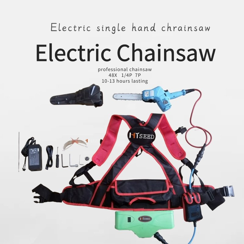 CE FC KC electric saw pruing tool 40Vsingle hand use lithium battery electric chainsaw