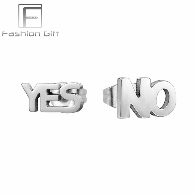 letter stud initial pair listing earrings il